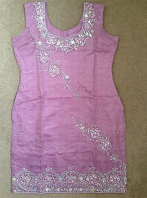 Pink Heavy Embroidered Pajammi Outfit