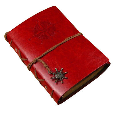 Vintage Classic Retro Leather Journal Travel Notepad Notebook Blank Diary NEW