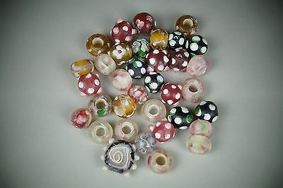A Fine Collection of Chinese 17thC Glass Bead Short Bracelet