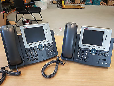 2 X CP-7945G Cisco Unified IP Phone , VoIP-Telefon  - VAT INCL