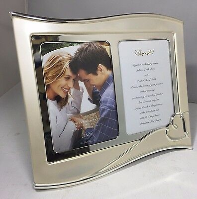 Lenox Forevermore Double Silverplate 5x7 Invitation Frame