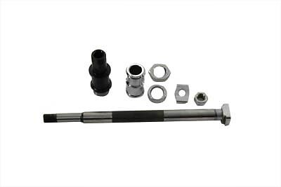 Rear Axle Kit Chrome, KIT,for Harley Davidson motorcycles,by V-Twin