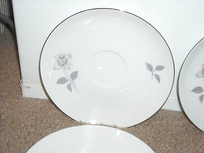 QUEENS ROYAL SHADOW ROSE Lot of 5 Plates