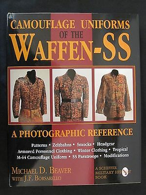 Book: Camouflage Uniforms of the Waffen-SS: A Photographic Reference 1000 photos