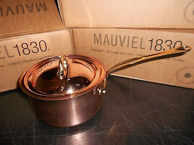 Mauviel Copper Saucepan 2-Qt. New In Box Made In France