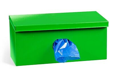 Canine Waste Bag Dispenser With Lock and 1000 Biodegradable Dog Pet Bags #42.5