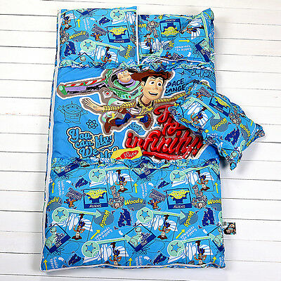 Disney Genuine Authorized Toy Story Kids Sleeping bag 2-Piece Set TS193
