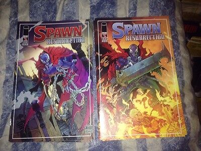 Spawn Resurrection #1 Cover A&B Image