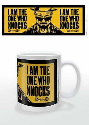 Breaking Bad - I Am The One Who Knocks Mug New Boxed 100% Official Merchandise