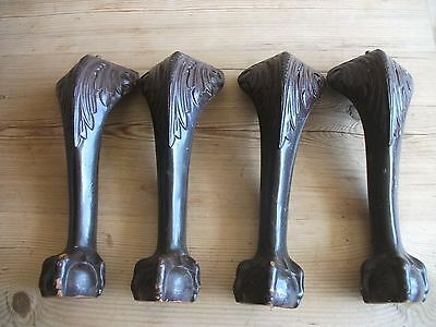 Furniture Legs Feet Project Ball & Claw  x4 FREE P&P