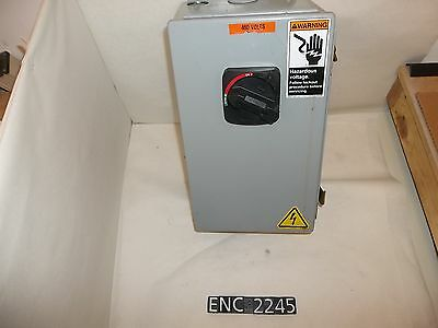 Hoffman A14086CH Steel Enclosure with Disconnect (ENC2245)