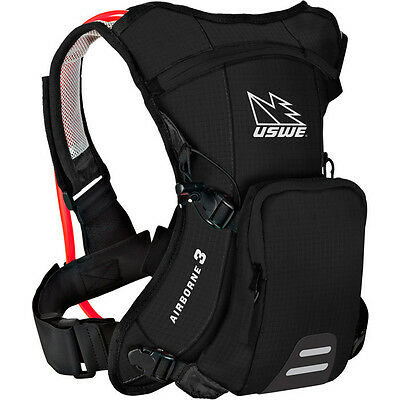 USWE Airborne 3 Hydration Pack 1L Cargo With 2.0L Shape Shift Bladder