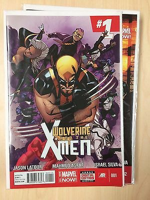 Wolverine and the X-Men (2014) vol 2 #1-12 Complete Series Full Run NM
