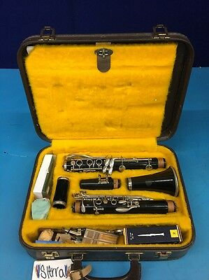 Vintage B.portnoy Clarinet With Accessories And Case PCY6