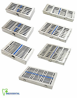 Surgical Sterilization Cassettes For 5, 7, 10 & 20 Autoclave Dental Instruments