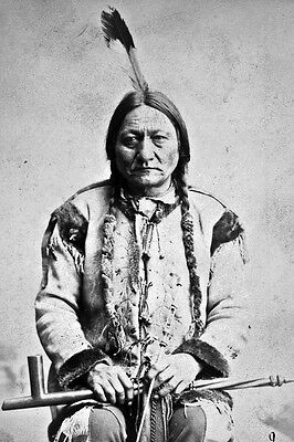 New 5x7 Native American Photo: Sitting Bull, Hunkpapa Lakota Indian Holy Man
