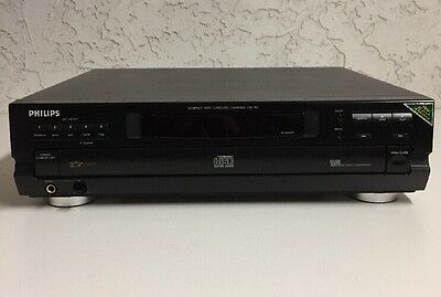 Philips CDC751 5 Disc Carousel Changer Bitcheck Conversion Audiophile CD Player