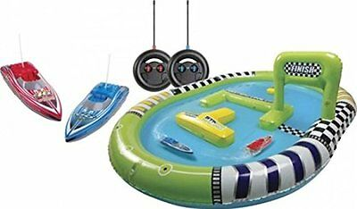 2 Remote Control Boats Radio RC Rechargeable Inflatable Pool Water Toy Kids Gift