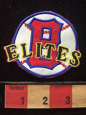 Patch cut out of pink Dress Negro League Baseball Baltimore Elite Giants MD 69Y2