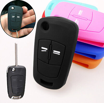 For Vauxhall Opel Corsa Astra Vectra Zafira Meriva Key Remote Case Fob Cover