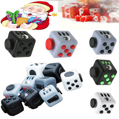 Fidget Fun Cubes - 6 Sided Cube of fun ~Free Shipping~ ~Anxiety, Stress Relief ~