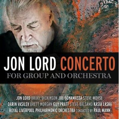 Concerto For Group & Orchestra - Jon Lord (2012, CD NUOVO) 4029759081838