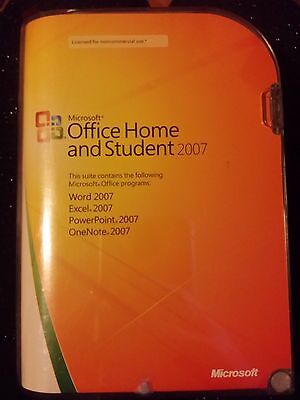Microsoft Office Home and Student 2007 Original case