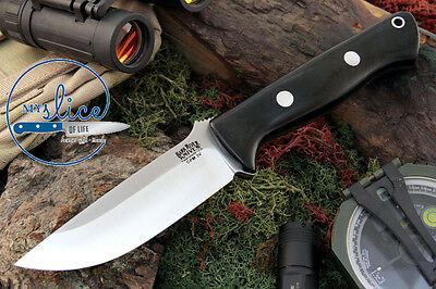Bark River Knives Bravo 1 LT / CPM 3V - Complete with Leather Sheath