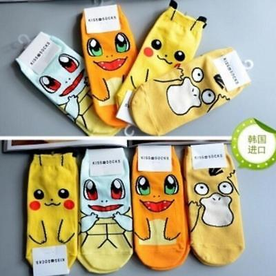 POPULAR SOCKS Women Girls Big Kids Cute Fashion Character Socks FW