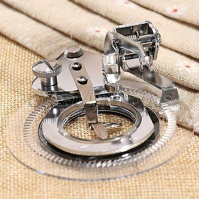 New Flower Stitch Embroidery Presser Foot for Brother Janome Juki Sewing Machine
