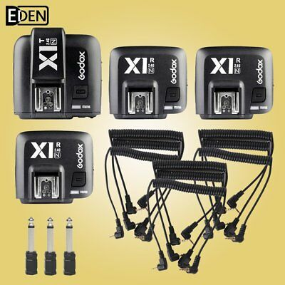 Godox X1N i-TTL HSS 2.4G Flash Wireless Trigger kit 1Transmitter & 3 Receiver