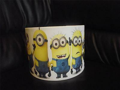 "Minions - Despicable Me  10"" Drum Ceiling Lampshade Lightshade"