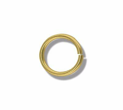 Solid 9ct Yellow Gold 3mm Jump Ring Finding For Attaching Charms/Pendants Links