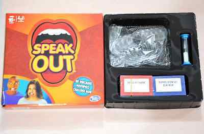 Hasbro Speak Out Board Game Funny Mouthguard Challenge Game Christmas Gift