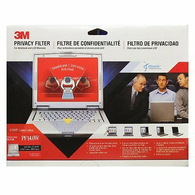 "3M Privacy Screen Filter 14.0 inch Widescreen 16:9 6.87""x12.2"" 98044049256 Z3NE"