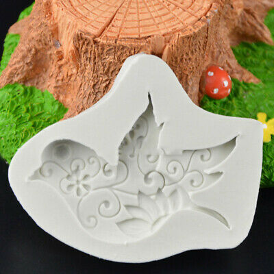 Silicone Pigeon Mould Fondant Cake Chocolate Pastry Bird Molds Sugarcraft Decor