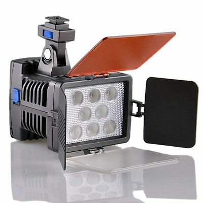 DSTE VL007 8-LED Video Light for Canon Nikon Panasonic Sony Digital Cameras