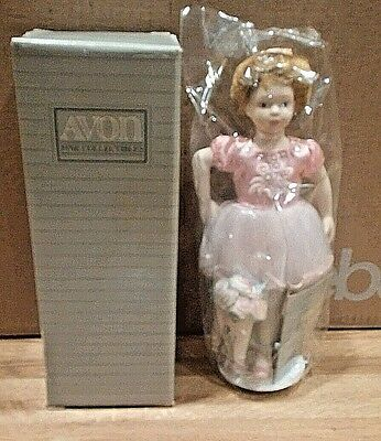 Avon Collectible Childhood Dreams Ballet Recital Doll Porcelain 1991 1 in series