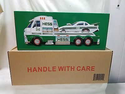 2016 HESS Toy Truck & Dragster New in Box IN HAND
