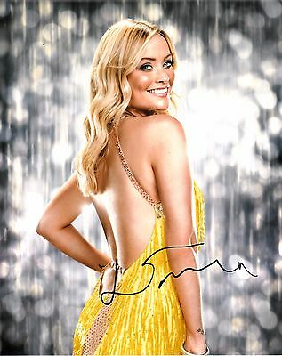 LAURA WHITMORE SIGNED 10x8 PHOTO - Strictly Come Dancing