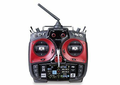 Graupner MZ-24 PRO 12 Channel 2.4G.HZ HoTT Colour TFT RC Transmitter New & Boxed