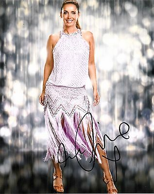 LOUISE REDKNAPP SIGNED 10x8 PHOTO - Strictly Come Dancing