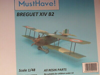 1/48 Must Have ! Resin Kit Breguet Br.14B-2
