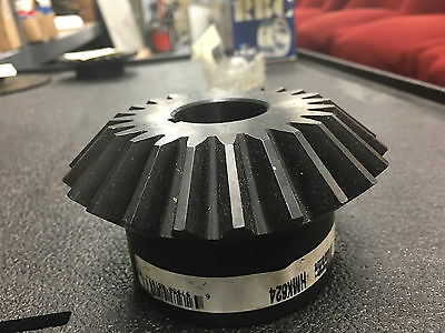 "Martin HMK624 Straight Tooth Miter Gear (24 Teeth, 6"" Pitch)  1 1/4"" Bore"