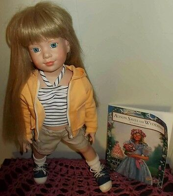 Alison Doll By Robert Tonner 1997 18 Inch Comes With Book