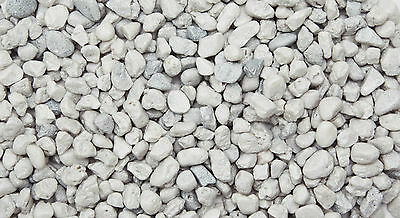 Aquarium Stellar Stone Gravel Mercury White 5 to 8mm Grains 2.5 kg Bag