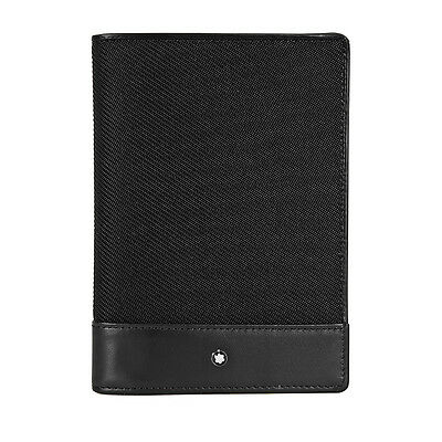 Montblanc Nightflight Passport Holder - Black