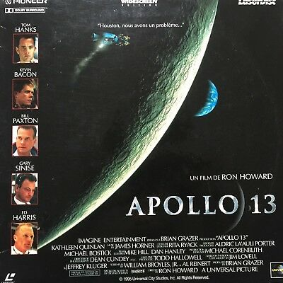 APOLLO 13 WS VF PAL LASERDISC Tom Hanks, Bill Paxton, Kevin Bacon