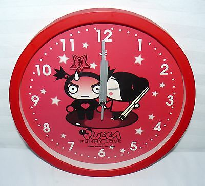 "Pucca Funny Love 12"" Round Wall Clock"