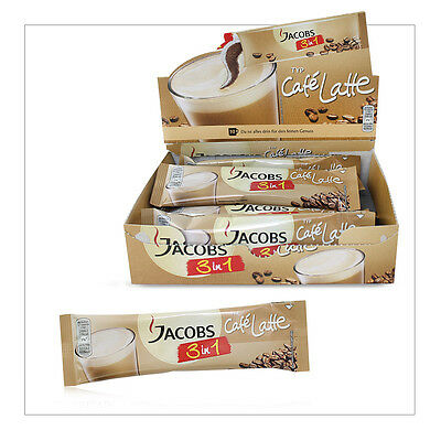 60 x Jacobs 3in1 Original Latte 2in1 Zuckerfrei Portionssticks Kaffee Großhandel